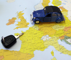 Location de voiture et conduite à l'étranger